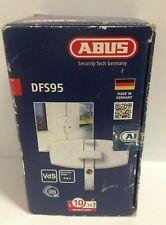 ABUS DFS95 W weiß Fenster-Zusatzschloss für Doppelfenster Schließung AL0089,