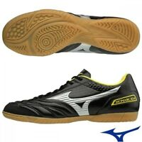 NEW Mizuno MONARCIDA SALA FS Indoor Soccer Football Futsal Shoes Q1GA1812 Black