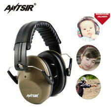Soundproof Foldable Ear Muff Noise Reduction Headset Hunting Sports Shooting
