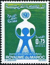 YT 652   MAROC Timbre Neuf ** TTB  JOURNEE DE L ENFANCE 1973