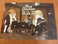 B.A.P - First Sensibility (B Ver.) [OFFICIAL] POSTER *NEW* K-POP BAP