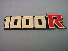 Nouveau emblème z1000r rouge pages Couvercle Kawasaki z1000 Greece emblème sidecover kz1000