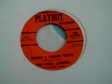 """THE SOUL LOVERS - SHAKE & FINGER POP'N * RARE SOUL FUNK 7"""" 45"""