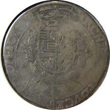 elf Spanish Netherlands Tournai Luxembourg 1/4 Patagon (1598-21) Silver
