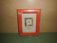 2 Stück Bilderrahmen BEL AIR ART Orange für 13x18cm Außen: 19x24 cm (R7/A3)