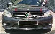 Griglia anteriore Mercedes classe C w204 modello 2007-2011 NERA+CROMO con stella