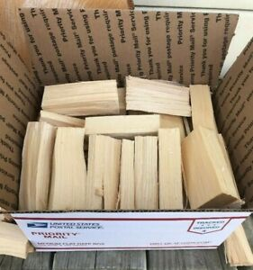 HickoryWood Chunks for Smoking, BBQ and Grilling - Free Priority Shipping