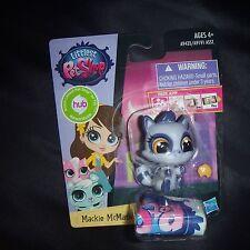 Littlest Pet Shop NEW Mackie McMask the purple raccoon 3750 hub