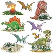 FunToSee™ nuova arte della parete adesivi 🐢 bambini camera da letto Nursery dinosauri 🇬🇧