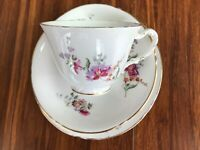 Antique old vintage tea trio Royal Worcester - cup,saucer,plate, very good cond.