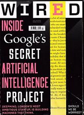 WIRED MAGAZINE JULY 15 GOOGLE'S SECRET ARTIFICIAL INTELLIGENCE PROJECT POST FREE