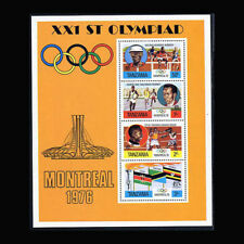 Tanzania, Sc #0061a MNH 1976, S/S, Olympics, Montreal, OL022F