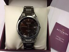 Mens Accurist MB843BR Stainless steel  dress watch RRP £79.99,