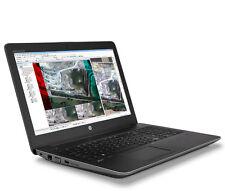 """HP ZBook 15 G3 Workstation i7-6820HQ 3.6GHz 15.6""""FHD 16GB 512GB SSD M2000M4GB 1Y"""