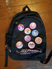 Set of 4 New Ed Hardy Josh Metal Pins Backpacks