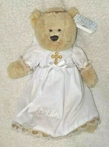 GANZ Holiday Angel Bear Collectibles HX11490 Plays Silent Night