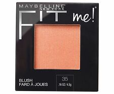 Maybelline Fit Me Blush Powder Face Makeup- NEW - choose your shade