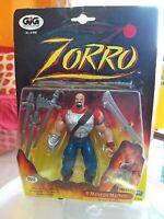 Gig gioco Zorro il Malvagio Machete con Braccio Bazooka lancia la freccia 1997