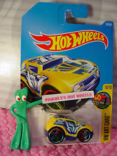 ROCKET BOX #38✰yellow/blue;T multicolor pr5✰Art CArs✰2017 i Hot Wheels Case B/C