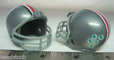 2 NEW OHIO STATE BUCKEYES CLASSIC MINI FOOTBALL HELMETS IN VENDING CAPSULES