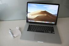 "Apple MacBook Pro 15"" Mid 2015 i7 2.2Ghz 16GB 512GB SSD RETINA A1398 MOJAVE"