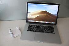 "Apple MacBook Pro 15"" Late 2013 i7 2.6Ghz 16GB 1TB SSD RETINA A1398 MOJAVE"