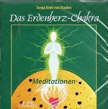 DAS ERDENHERZ-CHAKRA - Meditationen mit Sonja Ariel von Staden CD - NEU