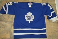 NHL Toronto Maple leafs CCM Official licensed product TIE DOMI #28 Jersey 90's