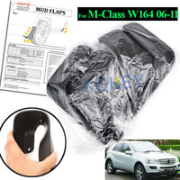 OE Fitment Front Rear Mud Guards Flaps For Mercedes 2006-2011 ML350 320 500 W164