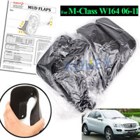 Front +Rear Mud Guards Flaps For Mercedes 2006-2011 ML350 320 W164 Splash Guards