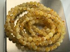 Natural Vintage Amber Beads Antique Baltic Old Necklace 33,44 gr.