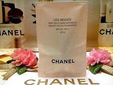 ☾1 PCS☽CHANEL Les Beiges Healthy Glow Foundation SPF25/PA++✰☾N°10☽✰◆2.5mL◆FRANCE
