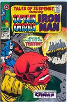 Tales of Suspense #90 RED SKULL COLON/KANE/LEE CAPTAIN AMERICA IRON MAN
