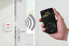 """Demenz Wegläuferschutz mit Tür-Kontakten & Funk-Meldung auf Pager """"Tür geöffnet"""""""
