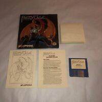 RARE Commodore Amiga Game THE FAERY TALE! COMPLETE w/ Map & Paperwork UNTESTED