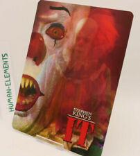 Stephen Kings IT i.t - Lenticular 3D Flip Magnet Cover FOR bluray steelbook