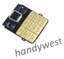 Nokia 6300 6300i Tastatur Keypad Tastaturmatte Tastenmatte Key Tasten Matte Gold