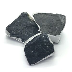 Black Tourmaline Rough Pieces - Sold Individually