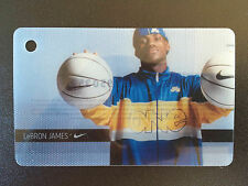 NIKE LeBRON JAMES COLLECTIBLE GIFT CARD Hard to find! No value. NBA Cavaliers