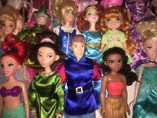 Mixed lot of 20 Disney Dolls, Mattel & Hasbro