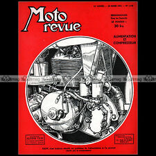 MOTO REVUE N°1129 DKW SALON D'AMSTERDAM COMPRESSEUR NORTON 350 CARENEE 1953