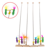 Classic Toy Woodpecker Hot on A Stick Pole Wooden Babies Toys Games T YAN