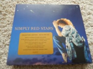 SIMPLY RED STARS COLLECTOR'S EDITION 2CD & DVD SET GATEFOLD MICK HUCKNALL 2007