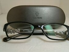 VERA WANG V303 BK 51-16-135 Eyeglass Frames With Case Free Shipping