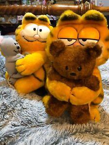 Garfield teddies vintage