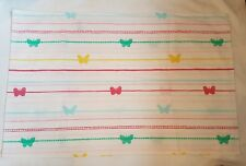 Next Girls Multi Butterfly Print Housewife Pillowcase -75 x 50 cm-One Pillowcase