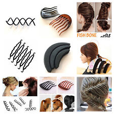 Hair styling accessories bun maker volume insert pin combe french plait twist