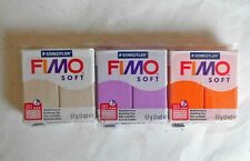 FIMO soft modelling clay.  3x57gram packs. New. Sealed.