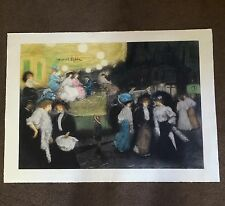 """Carosel"" Signed By Artist Manuel Robbe"