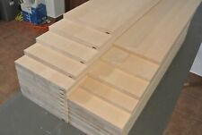 13 steps stair cladding -system1 - beech wood + extra riser bits